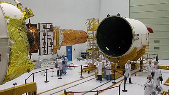 Lieu de lancement, Baïkonour , Kazakhstan