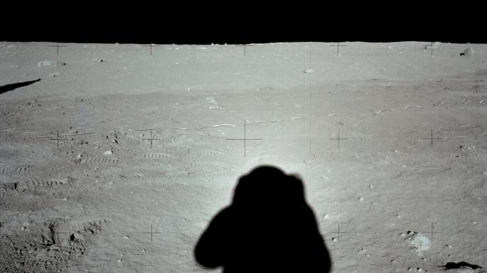 Edgar D. Mitchell photographie le module lunaire Apollo 1