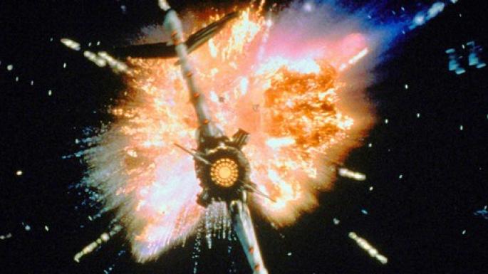 Le feu dans l'espace