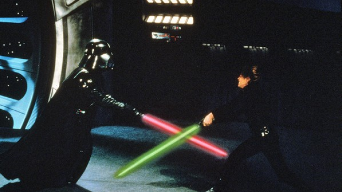 Les combats à l'épée laser