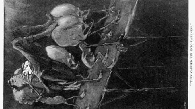 Capturé par les Sélénites (1901)