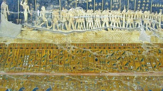 Plafond astronomique égyptien