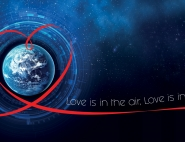 Saint-Valentin : Love is in the air, love is in space