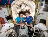 Femmes dans l'espace