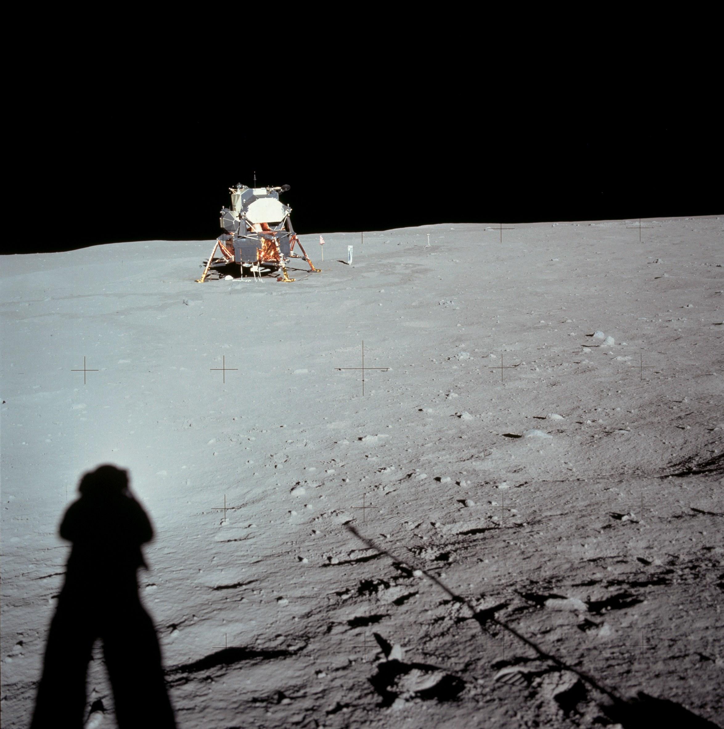 Vue du module lunaire – Mission Apollo 15