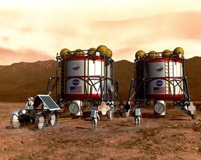 Vivre sur Mars?