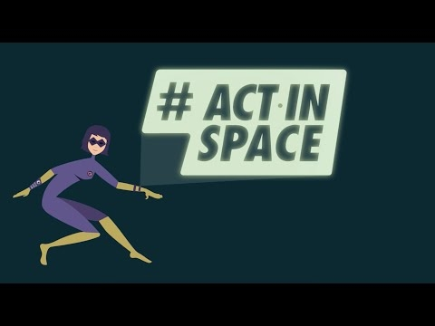 #ActInSpace 1er hackathon international sur les applications spatiales