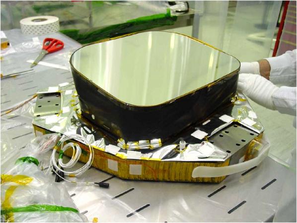 Le miroir du télescope