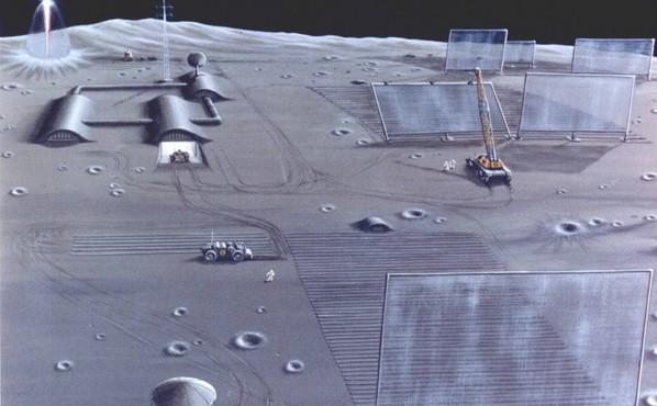 Publicité sur la Lune