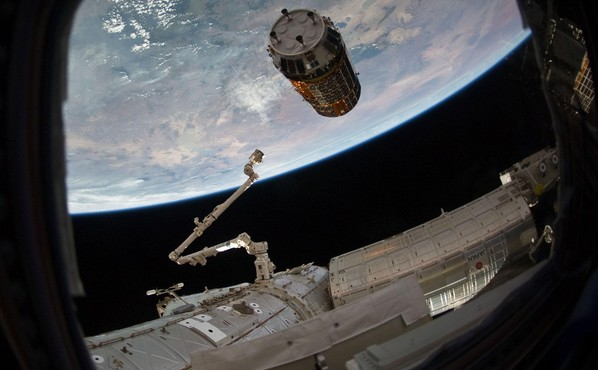 L'ISS en 2010