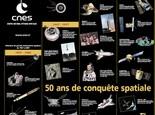 Voir le poster 50 ans d'espace