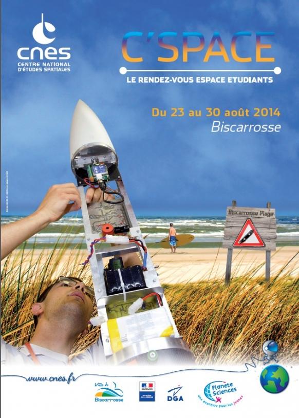 Affiche C'Space 2014