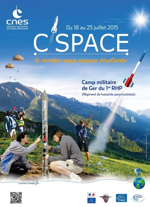 Affiche C'Space 2015