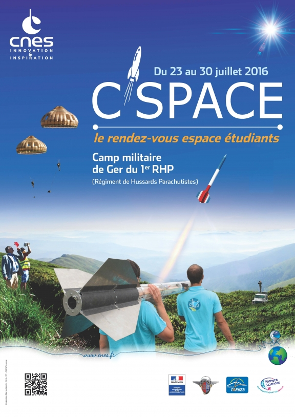 Affiche C'Space 2016