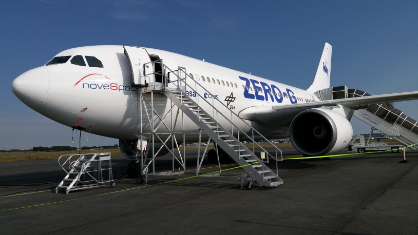 L'A310-0G de Novespace