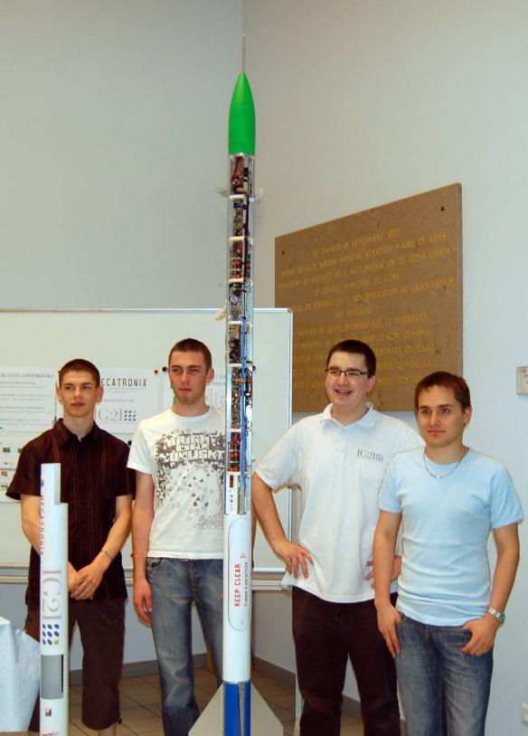 La fusée Hystérésis du club Mécatronix
