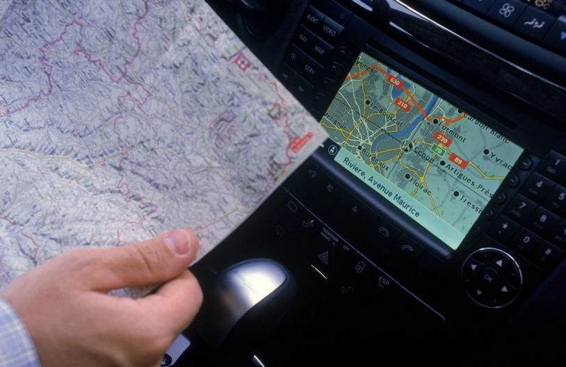 """Le système de géolocalisation par satellite, GPS, repose lui aussi sur le """"temps internationale"""" © Phovoir"""