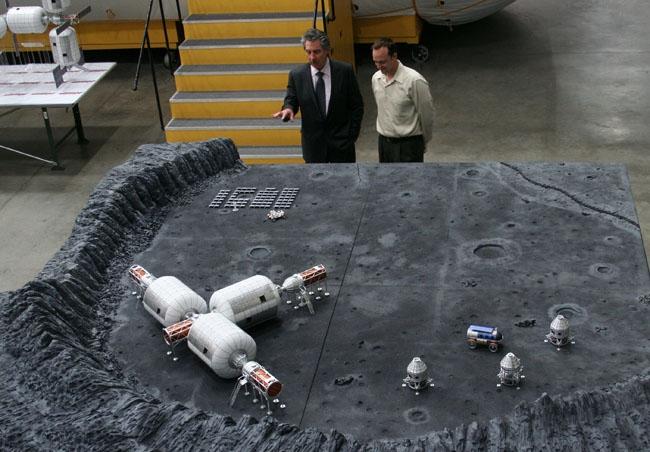 : Une station spatiale gonflable. Voilà ce que propose de poser sur la Lune l'entreprise Bigelow'Aerospace © Bigelow Aerospace Corporate