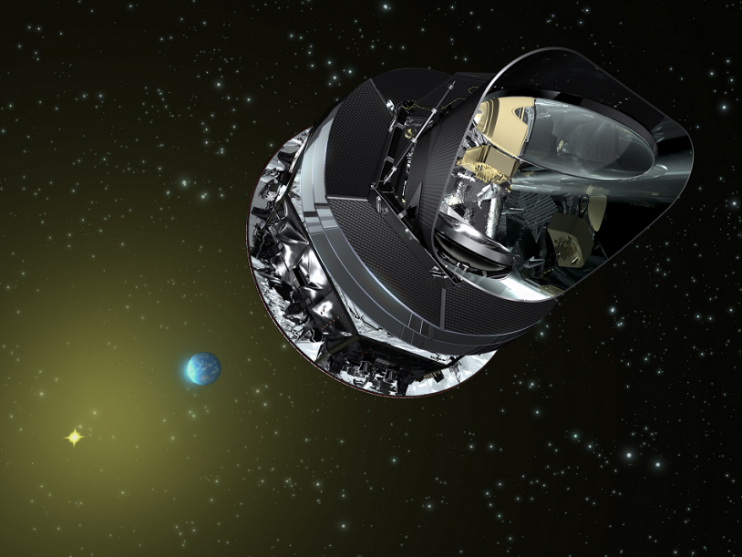 Le satellite Planck © ESA