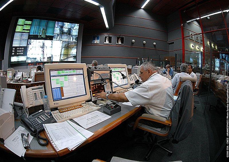 Salle de contrôle Jupiter du Centre Spatial Guyanais © CNES