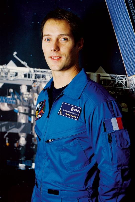 Thomas Pesquet, jeune ingénieur français, fait partie des 6 candidats sélectionnés en 2009 par l'ESA pour devenir astronaute © M. Koell / ESA