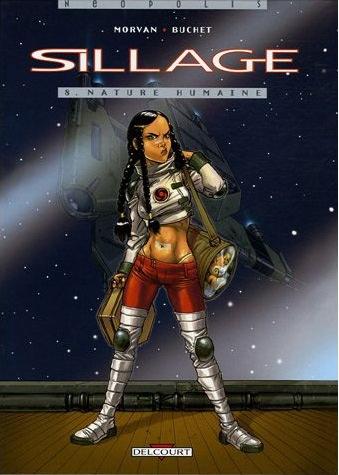 Un n° de la série Sillage, une bande dessinée de Jean-David Morvan et Philippe Buchet (1998, éditeur Delcourt) © DR