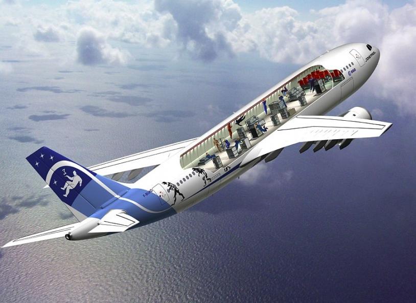 Airbus A300-0G (zéro gravité) © Novespace