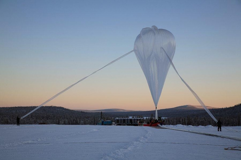 EUSO Ballon : quand 400 000 m3 s'envolent dans le ciel canadien